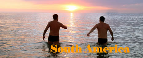 South America's, Brazila and Argentina Gay Hotel Reservations