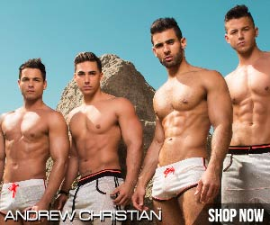 Andrew Christian sexy gay swimwear & underwear