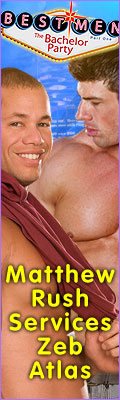 Matthew Rush services Zeb Atlas at Falcon Bashelor Party