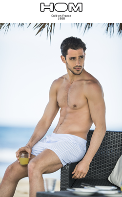 HOM men's swimwear