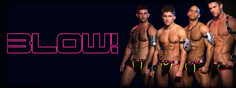 Andrew Christian BLOW! Sexy Designer Mens Underwear Collection